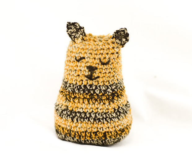 Flashback CRAFT Pattern: Crochet Tiger Kitty