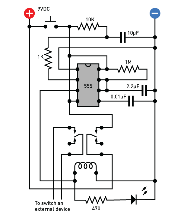 delay timer circuit
