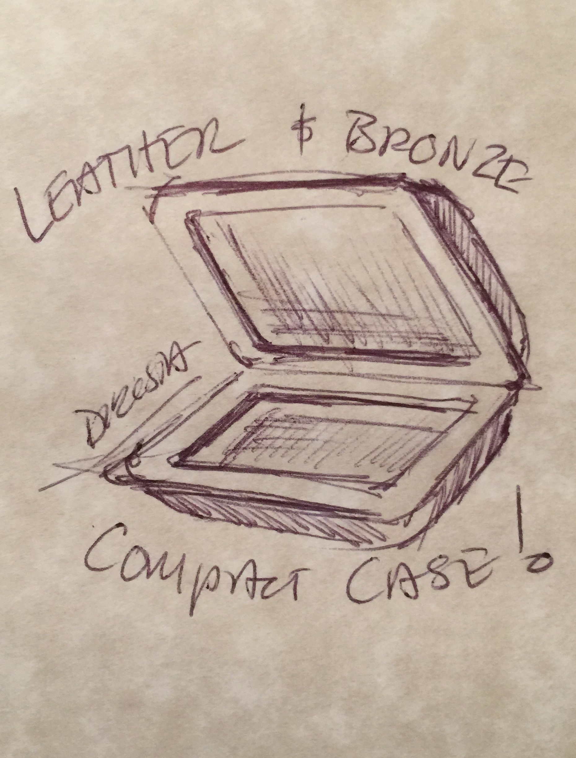 DiResta: CNC Mold for Leather Compact Case