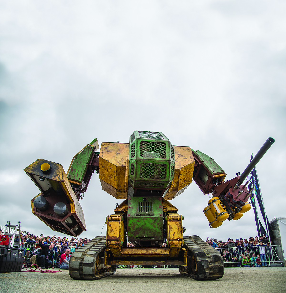 Over the Top: A Brief History of 21st Century BattleMechs