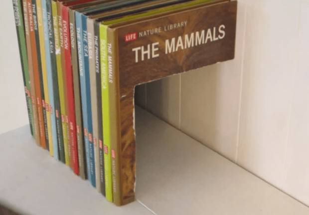 Multi Book Secret Storage Compartment By Jason Poel Smith U2014 Via Make: