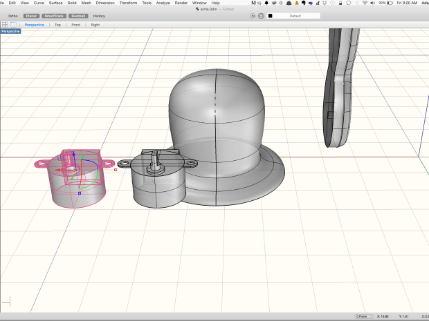 Building a Robot Arm Part 2: Designing the Solid Base