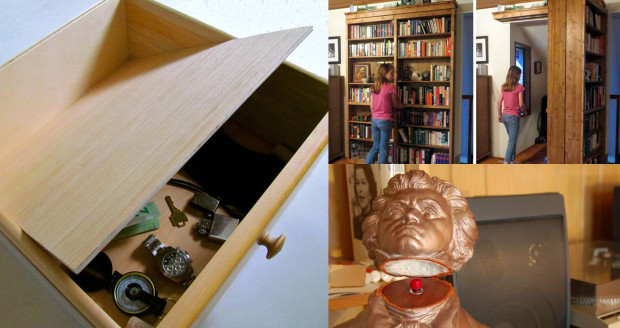 20 Secret Doors and Clever Hiding Places | Make: