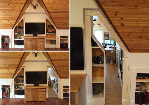 20 Secret Doors and Clever Hiding Places Make