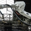 Robots Are 3D Printing a Bridge Right Underneath Them