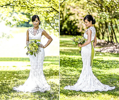 This Gorgeous Crochet Wedding Dress Only Cost