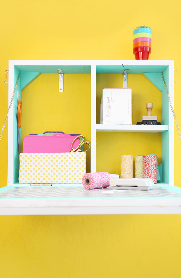Get Organized: DIY Mail Station