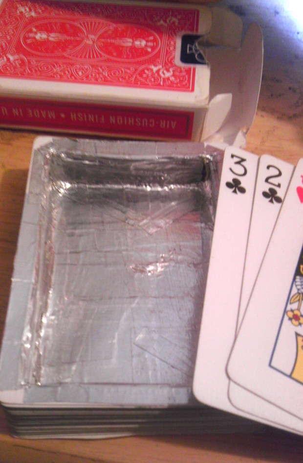 Hollow Deck of Cards via Imgur