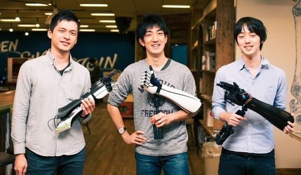 Exiii's Tetsuya Konishi, Genta Kondo, and Hiroshi Yamaura