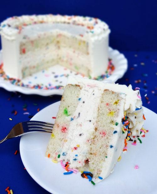ice cream cake with cake
