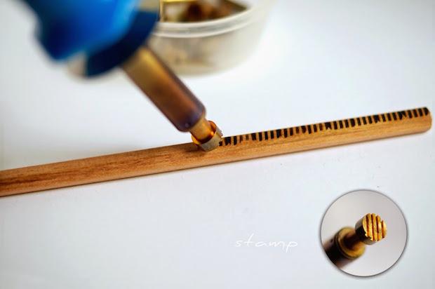 Inspired Writing: Gorgeous Woodburned Pencils