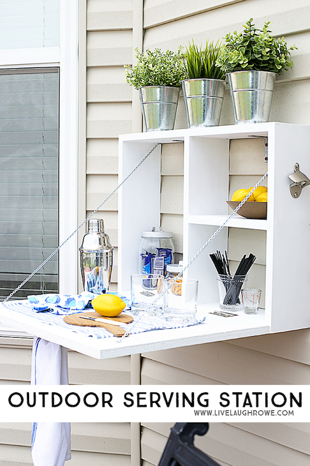 Party on Your Patio: Outdoor Serving Station