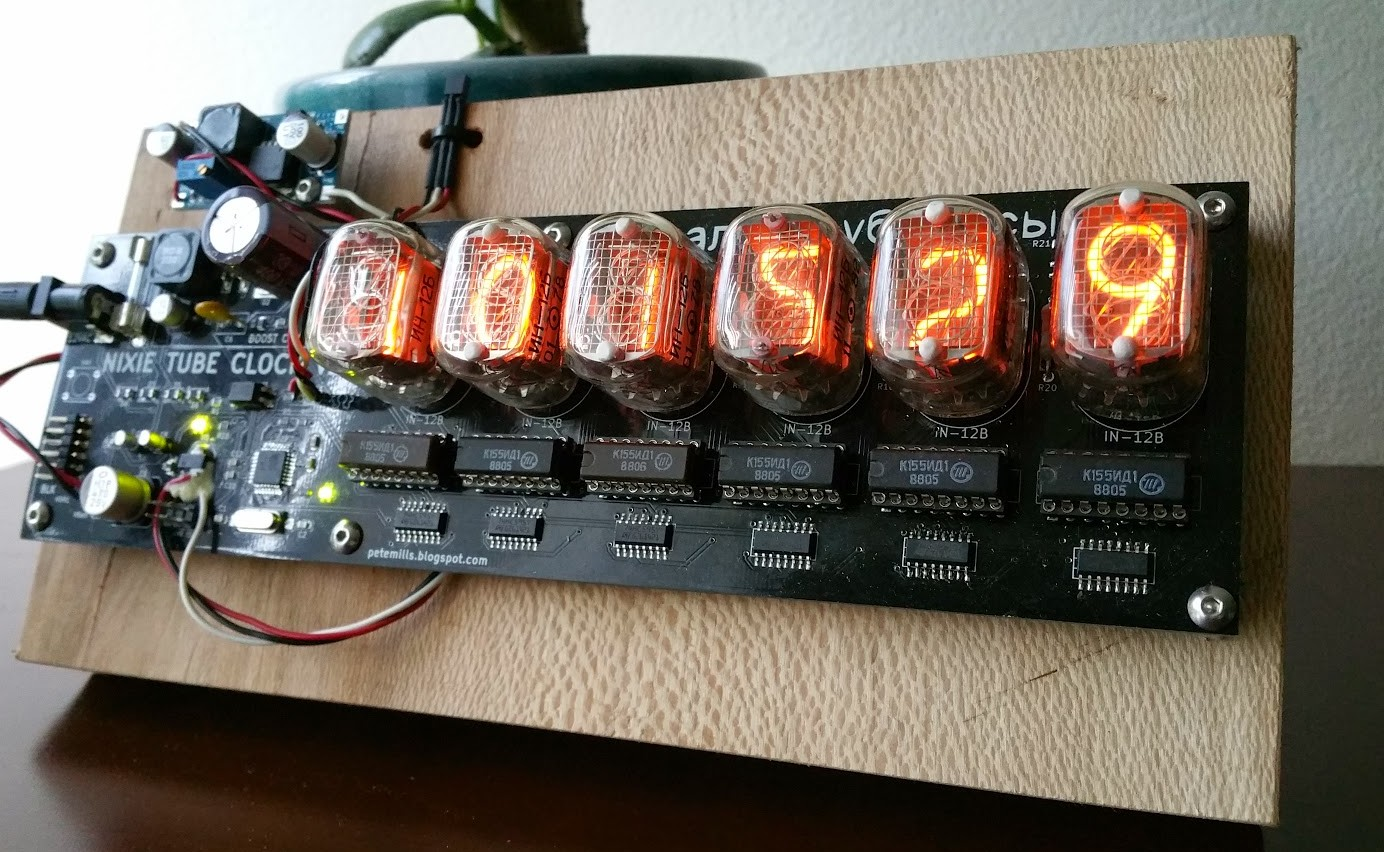 Check Out This Beautifully Quirky Nixie Tube Clock