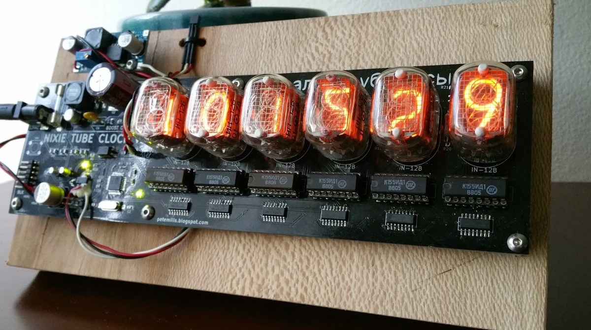 Check Out This Beautifully Quirky Nixie Tube Clock Make Diy Pcb Etching 15 July 2014 Of Printed Circuit Boards Article Featured Image