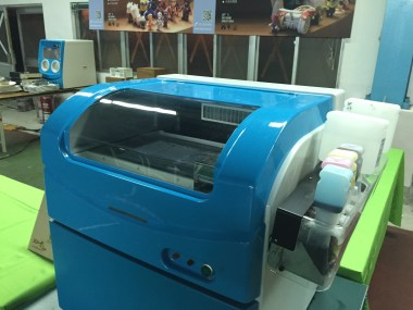 Tdot 10k inkjet powder binding 3D printer with the cover on.