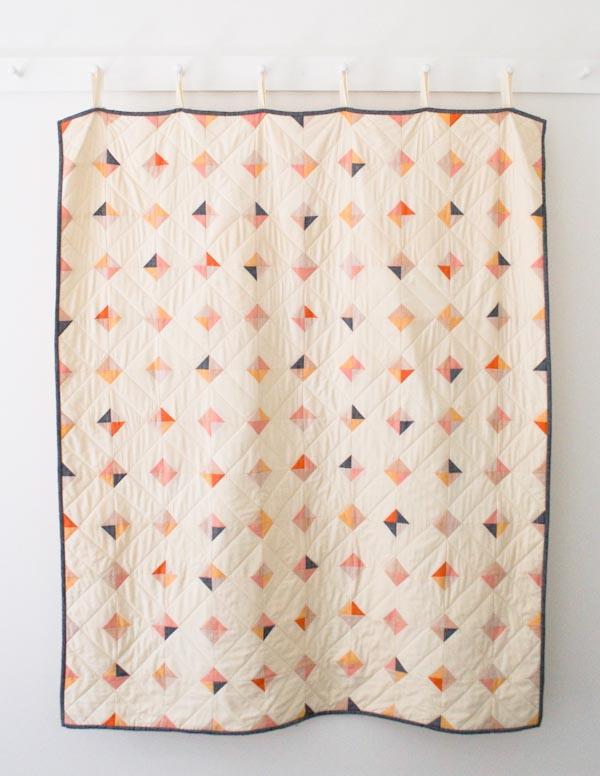 Stitch It: Tiny Tile Quilt