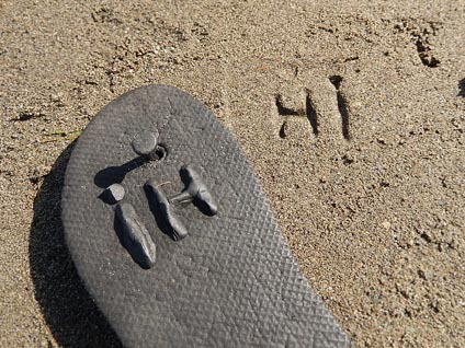Toy Inventor's Notebook: Footstep Sand Stampers