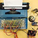48 Solenoids Transform This 1960s Typewriter into a Computer Printer