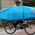 Steve Heath on the Fab Newport Fish Bike