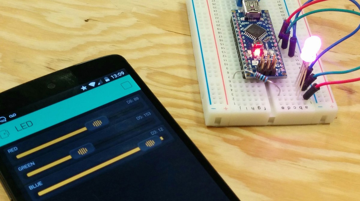 Control An Arduino With Your Smartphone Via Blynk Make Rgb Led Strip Circuit Use For Projects Article Featured Image