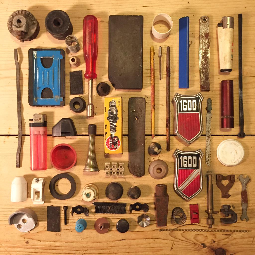 Artist Draws All 100,000 Objects in Grandpa's Shed   Make: