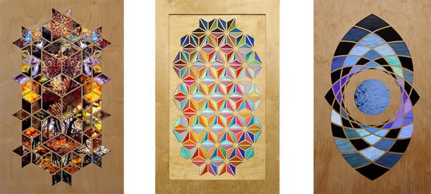 "Each piece measures around 22""×32""×4"""