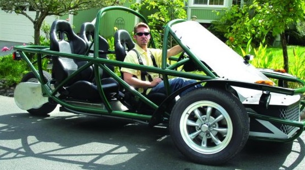 This High-Performance Electric Vehicle Kit Can Be Built in a Week