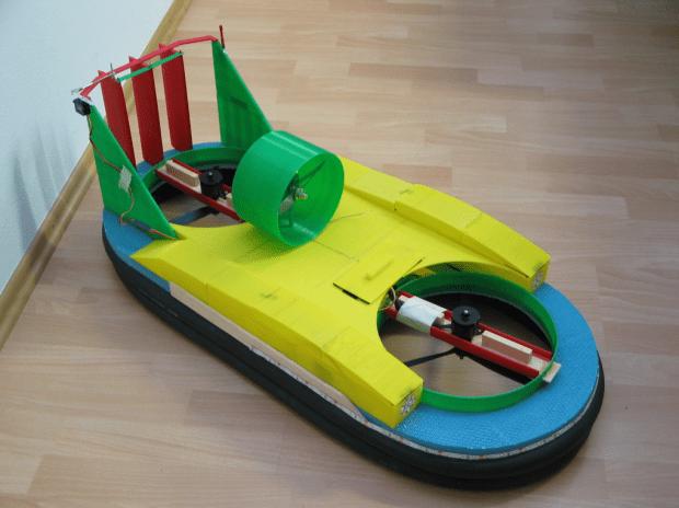 3D Printed Hovercraft