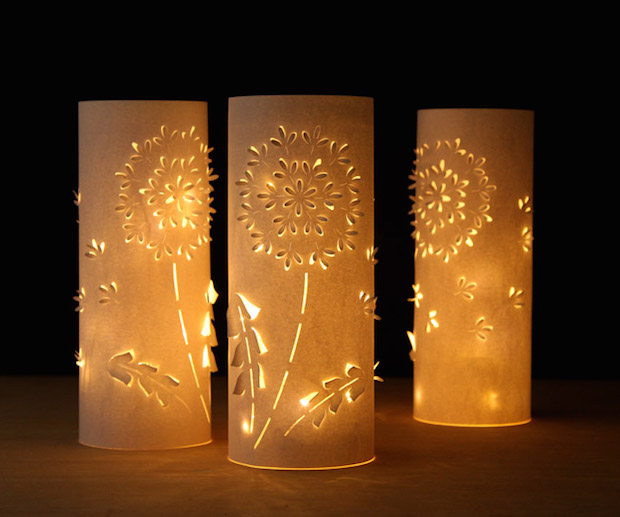 Make A Set Of Diy Paper Dandelion Lanterns Make