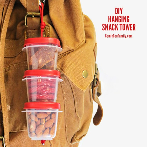 Snack Smart with a DIY Hanging Snack Tower