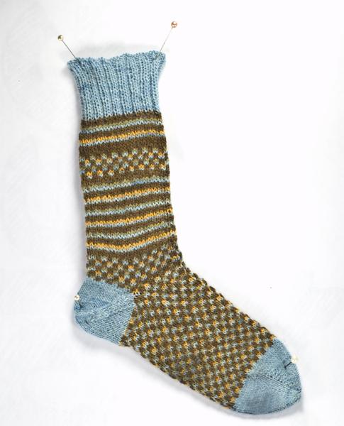 Flashback CRAFT Pattern: Parsimonious Toe Up Socks