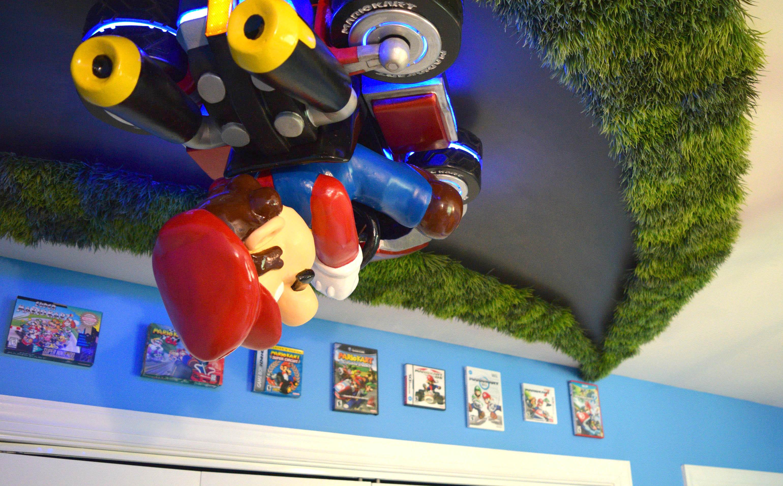 Over-the-Top Nursery Brings You Inside Mario Kart