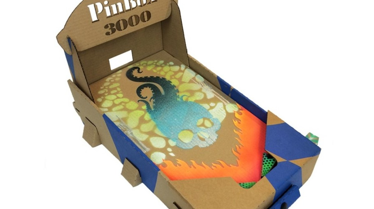 Design Your Own Cardboard Pinball Machine | Make: