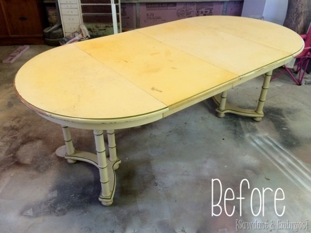 plain table wood stain