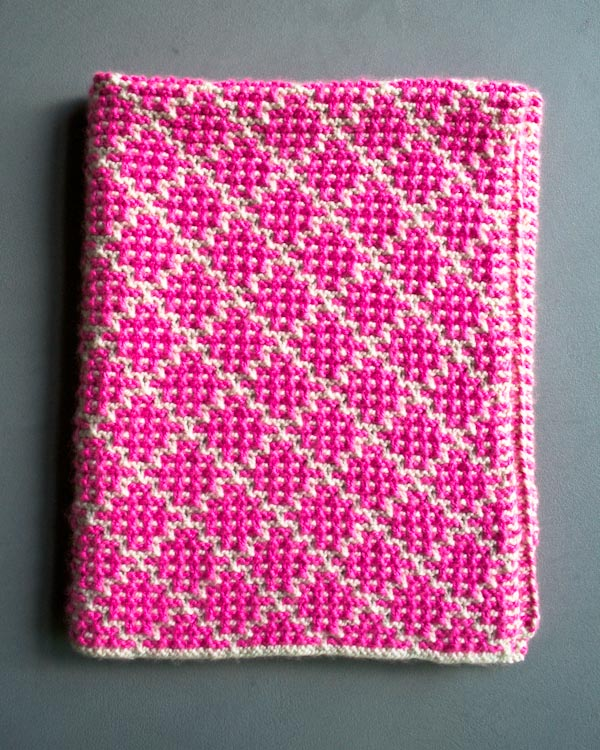 Knit It Pretty: Mosaic Blanket