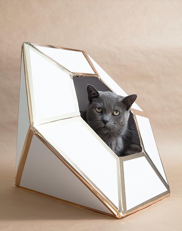 DIY Wedding: Giant Diamond Card Box