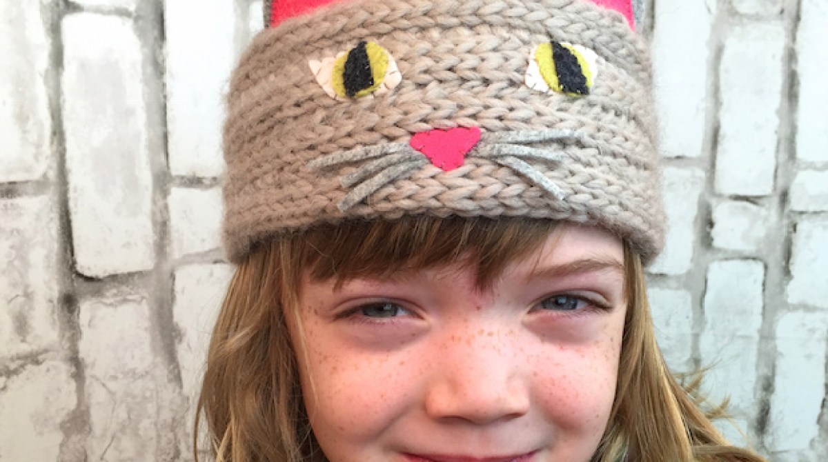 Kid Knits: Kitty Cat Headband