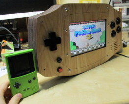 wooden giant game boy advance