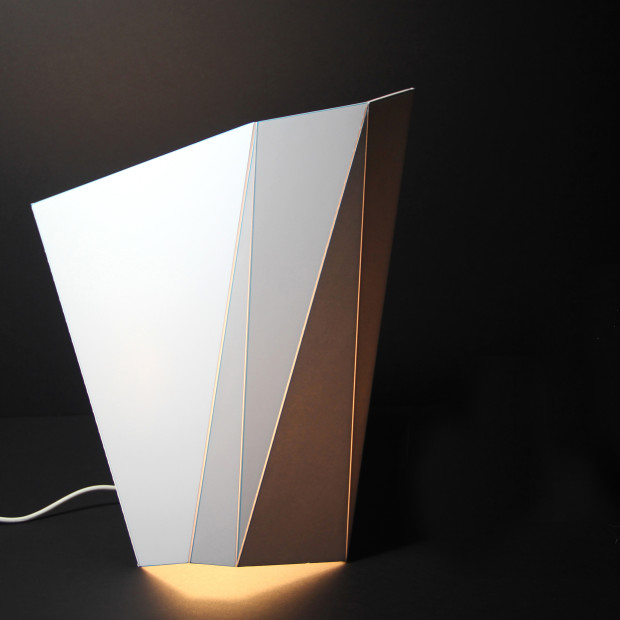 Foamcore Lamp design.