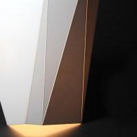 Foamcore Lamp design.