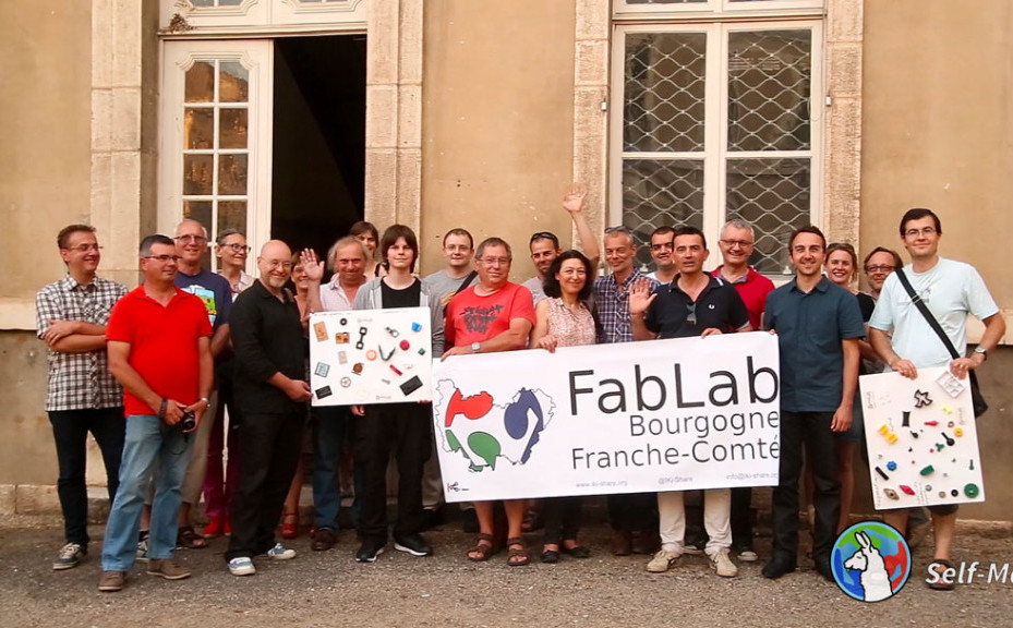 Tour de Fab Labs Cycles Through France