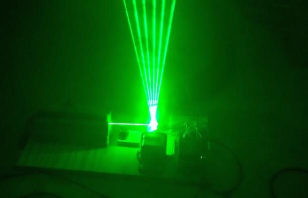 Laser Harp Synthesizer