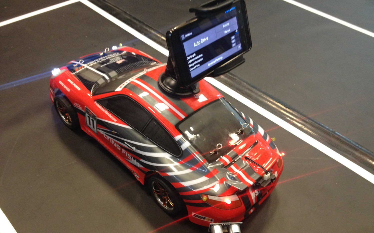 Build Your Own Android Powered Self Driving R C Car Make Race Wiring Diagram Systems Alternative