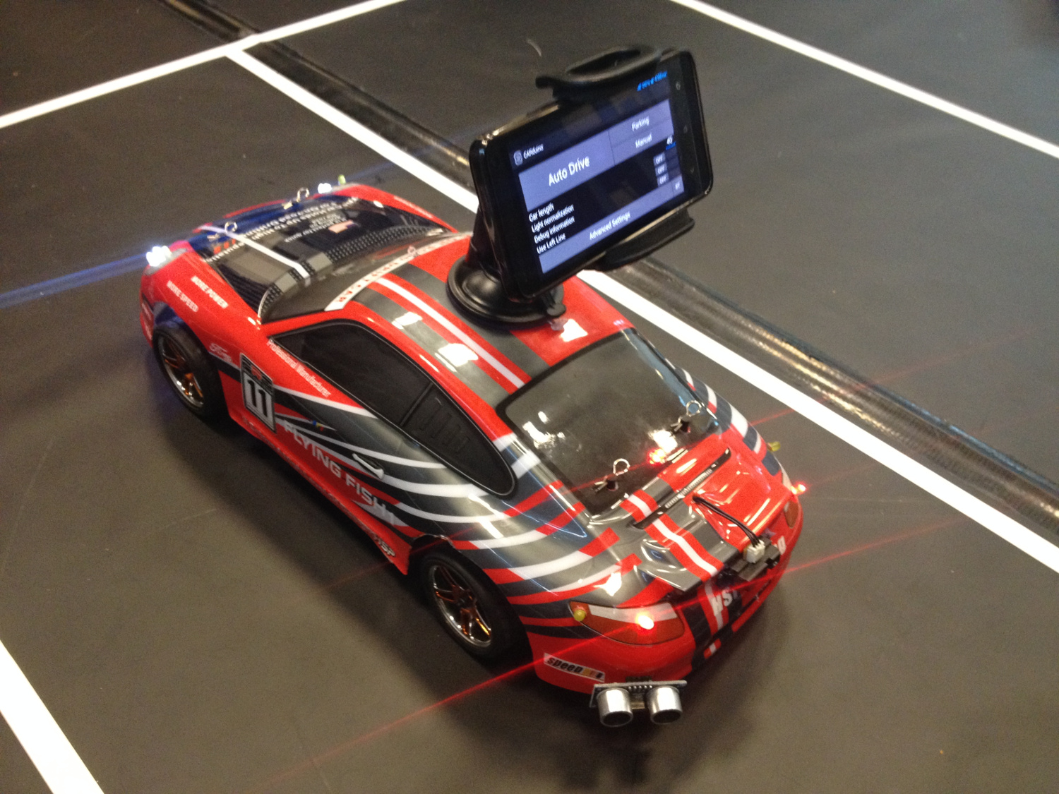 Build Your Own Android Powered Self Driving R C Car Make