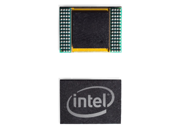 Intel curie front and back