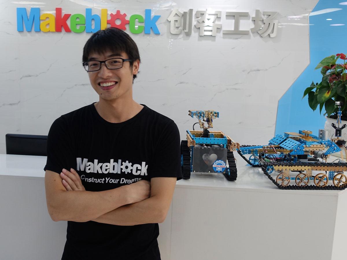 Makeblock: A Construction Set for the 21st Century
