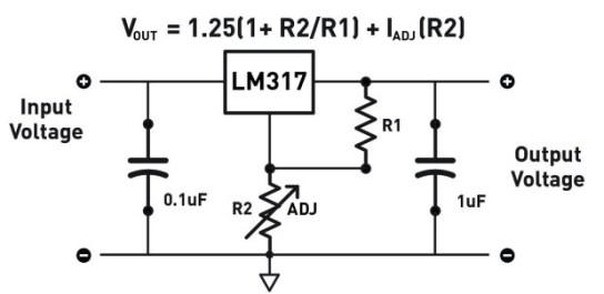 LM317 Voltage Circuit
