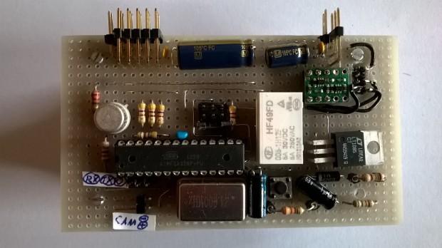 Luci's control board.