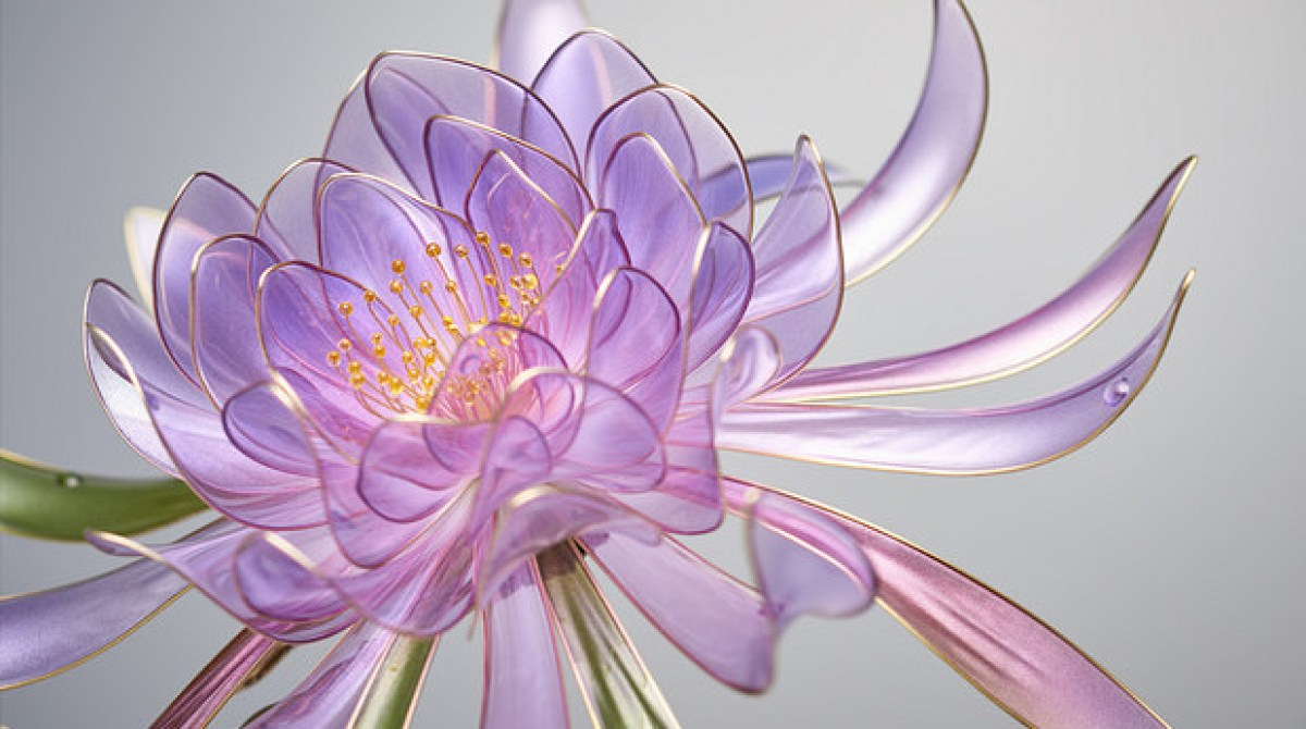 delicate resin flowers bloom with unusual technique make