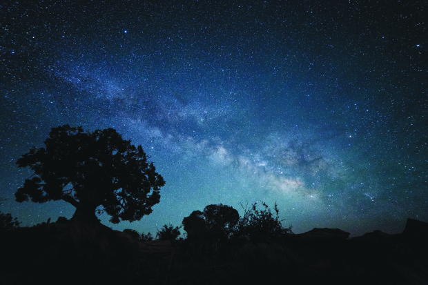 Silhouette Milkyway